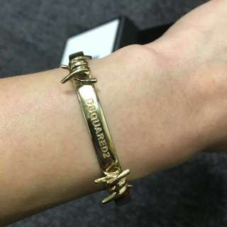 Made in Italy -DSquared2 armlet babe wire mini bracelet 手鈪