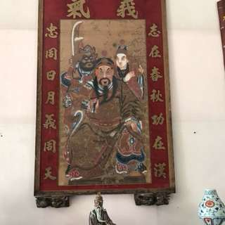Antique Guan Yu