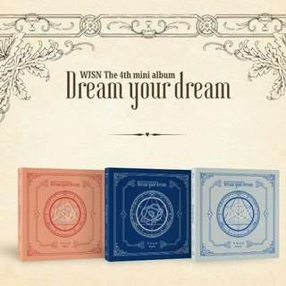 WJSN Dream your dream 4th mini album random ver