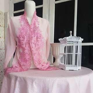 Kebaya Kartini Baby Pink