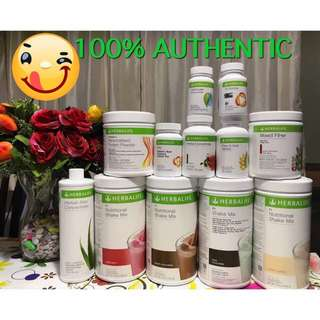100% Authentic Herbalife Nutrition