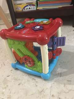 Vtech cube educational toy