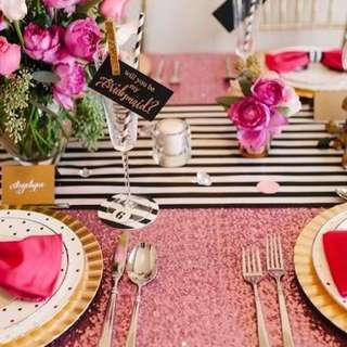 Deco Table Set Up