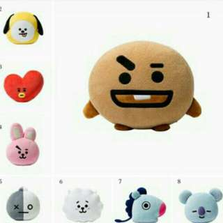 Bts BT21 cushion plushie pillow 💕