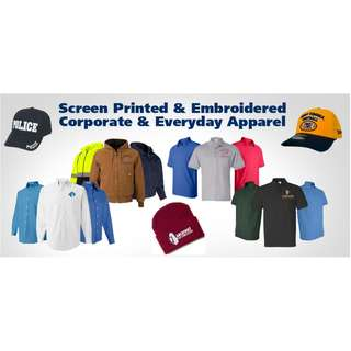 T-SHIRTS with PRINTING or EMBROIDERY SERVICES