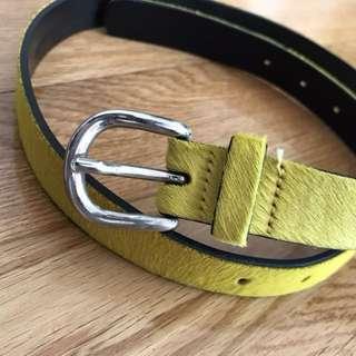 《全新》 ISABEL MARANT calf hair belt