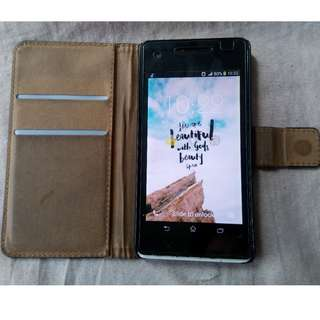 Sony Experia LT25i with leather case
