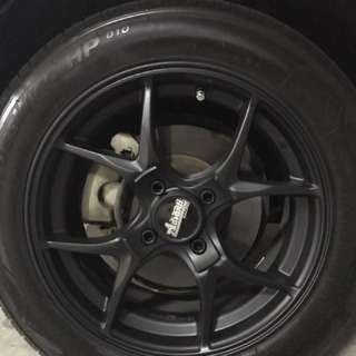 Respray your rims / calipers