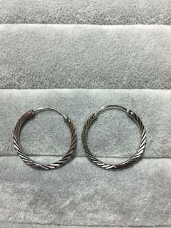 S925純銀耳環