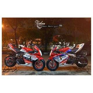 Motormini GP Polini  50cc 2tak New Produk 2018