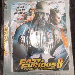 DVD Jack Reacher, fast furious8