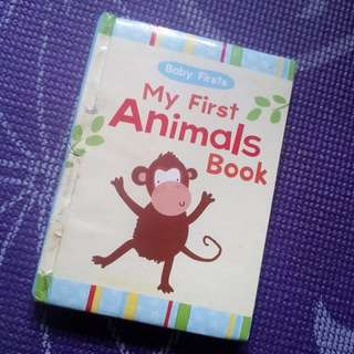 """Baby Firsts: """"My First Animals Book"""""""