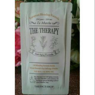 The Face Shop The Theraphy Oil Blending Formula Serum Samplers Sachet