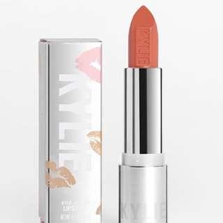 Kylie Creme Lipstick in Sherbet (Warm Orange)