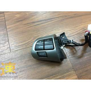 Toyota Wish 2017 Steering Wheel Audio Control