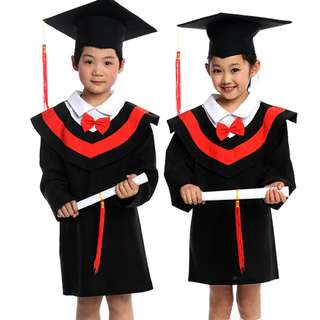 PhD College Graduate Toga Kids Costume