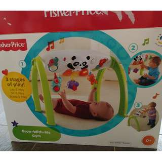 Fisher-Price Newborn Grow-With-Me Gym Amusement Toy