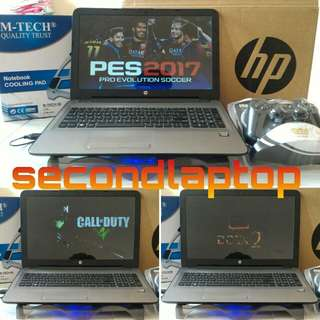 HP VGA 4,3GB SETARA i7 HDD 1TB FULLSET LIKE NEW BONUS MURAH