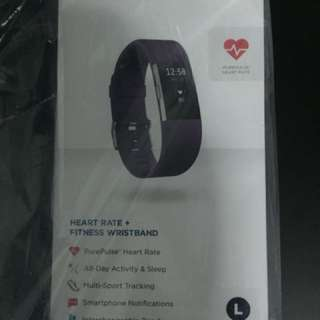 Fitbit Charge 2 Fitness Tracker Plum L Size (Brand New Sealed)