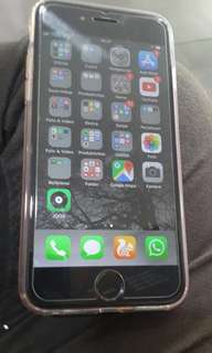 iphone 6s 64 GB grey . muluss