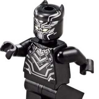 Lego™ Marvel's Black panther Minifigure