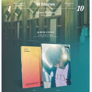 [PO] INFINITE KIM SUNG KYU 1ST ALBUM - 10 STORIES