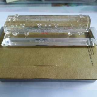 2005年地鐵迪士尼綫列車水晶模型通車紀念版