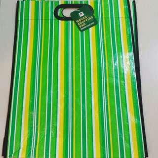 🌹Brand New Big Shopping Handbag / Bag (Lime Green / Yellow / White Colour)