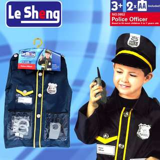 Police Officer Kids Costume