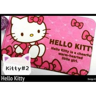 Tsum and Hello Kitty Design Doormat