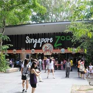 Singapore zoo E-tickets(Adult)