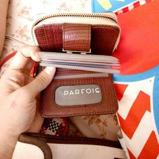Parfois card organizer and wallet
