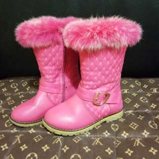 Preloved Highcut boots for little girls
