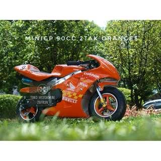MotorMini GP 50cc New 2018 Matic Oranges