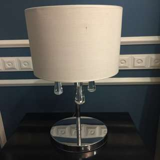 Bed side lamp.
