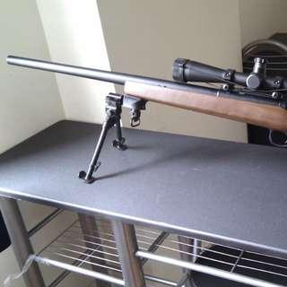 新淨Marui VSR-10 手拉空氣狙擊槍,日本製造,新净小玩,送槍袋和望鏡。