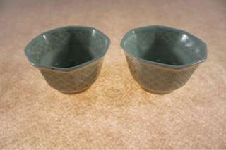 A pair of antique Japan cup