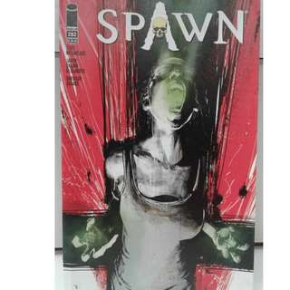 Spawn 282 1st app of black mirror color copy 1st print