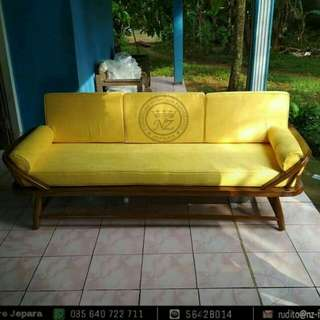 Sofa Retro Jati Ercol Day Bed