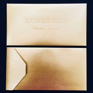 Burberry Red Packet 2018