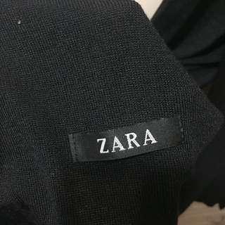 Zara black scarf