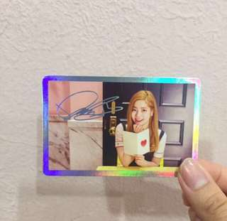 Twice Dahyun Photocard