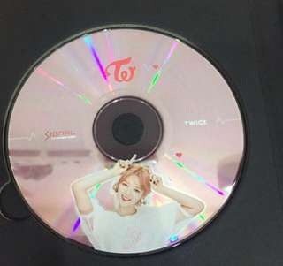 Twice Jungyeon CD Plate