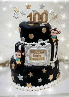 百日宴蛋糕