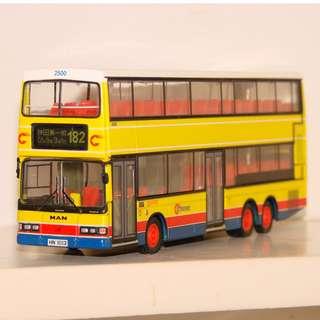 城巴CITYBUS猛獅24.350巴士模型 (問題車)