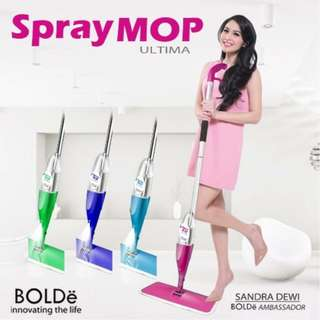 Bolde Spray Mop Ultima Gagang Stainless Murah