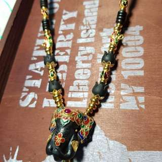Amulets necklace (ready made or custom made)