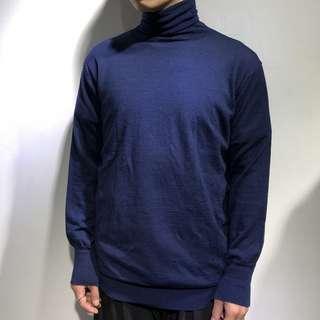 薄身樽領線衫