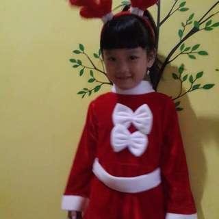 Dress natal anak