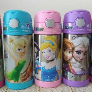 Thermos Frozen,Princess, Minnie, Trinkle Bell 保温水壼及食物壺